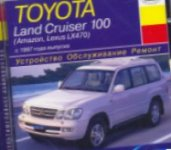 Компакт-диск TOYOTA Land Cruiser 100 (Amazon, Lexus LX470) с 1997 года