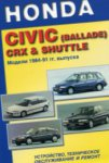 Руководство HONDA CIVIC (BALLADE) CRX & SHUTTLE
