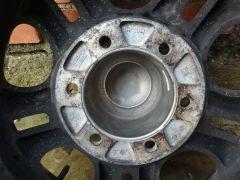 Штатный диск скад зенит с рассверленым ЦО под колпак 110мм