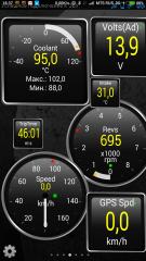 температура с мерседесовскими порогами включения вентиляторов 100/95 и 107/102