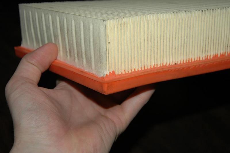подрезание корандовского воздушного фильтра