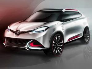 Новая модель CS MG - потенциальный конкурент Nissan Juke.