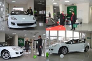 «Таганрогский автомобильный завод» успешно передал новым хозяевам ключи от двух дебютных серийных экземпляров своего «четырёхдверного купе» Aquila.