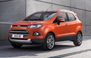Ford в начале марта будет представлять европейский вариант компактного кроссовера EcoSport.