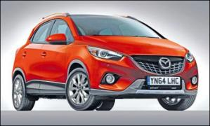 Mazda выпустит компактный кроссовер CX-3 в 2014 году