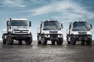 Вашему вниманию представлен Mercedes-Benz Unimog – универсальное моторное транспортное средство, которое создано в отделе разработки авиационных двигателей компании Daimler-Benz.