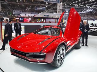 Ателье Italdesign всего в двух экземплярах разработала уникальную машину, при этом оба предназначены для внутреннего пользования - это прототип Parcour, который отдалённо напоминает суперкар из Санта-Агаты.