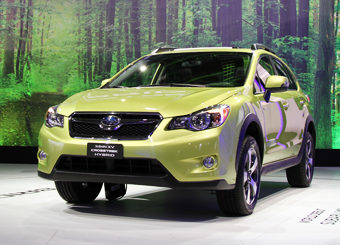 В дилерских салонах США Subaru XV Hybrid - самый экономичный гибридный полноприводный кроссовер - появится в четвёртом квартале 2013 года.