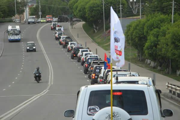 Dozens of korandovods' jamboree partiers