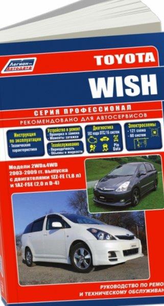 Скачать Руководство Toyota Wish - alldownloaderangry