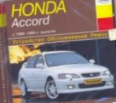 Компакт-диск Honda Accord с 1998 года выпуска
