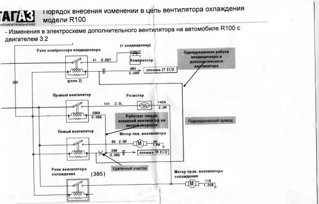 электрическая схема тагаз