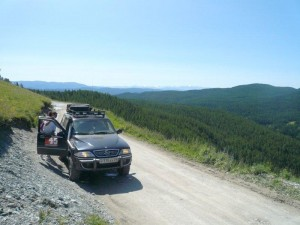 дорога на перевал Кату-Ярык