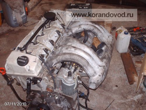 2 - Откапиталенный мотор OM606