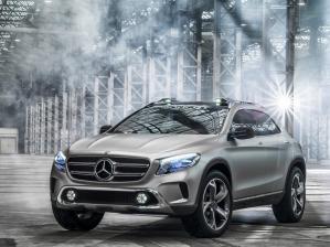 Компания Mercedes-Benz на автосалоне в Шанхае покажет концепт своего нового компактного внедорожника GLA.
