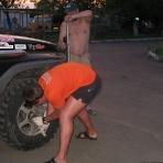 Неудачная попытка снять мудовые колёса у Варламова Сергея